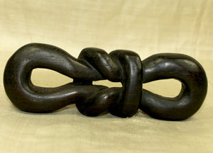 "Black Palmwood ""Knot"" Component-Pendant; Lou Zeldis Collection"