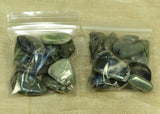 Grab Bag of 10 Dark Jade Lou Zeldis Components
