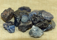 18 grams of Rough, Raw Sapphire Crystals; Lou Zeldis Component Collection