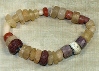 Collection of Ancient Stone Beads from Mali; Lou Zeldis Components