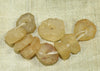 9 Ancient Quartz Beads from Mali; Lou Zeldis Components