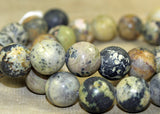 Collection of Mixed Stone 12mm Beads; Lou Zeldis Components