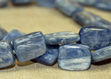 Strand of Blue Kyanite Beads from the Lou Zeldis Component Collection