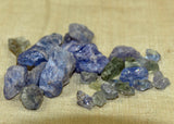 15 grams of Rough, Raw Tourmaline Crystals; Lou Zeldis Component Collection