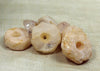 Bag of Ancient Quartz Disc Beads from Lou Zeldis Collection