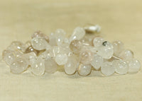 Strand of Rutilated Quartz Teardrop Beads; Lou Zeldis Collection