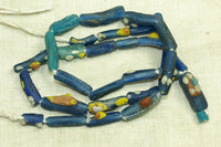 Roman Era Afghan blue Glass Beads with