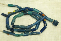 Roman Era denim blue Glass Beads with
