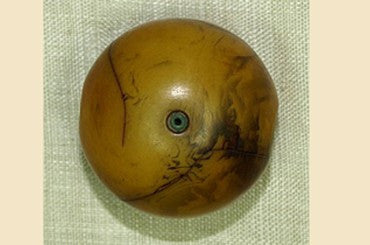 "Antique Mauritania ""Amber"" bead"