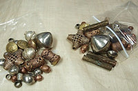 Bag of African Metal Beads