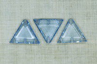 Vintage Cab: Transparent Blue Triangle