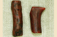 Pair of Antique Branch Coral Beads