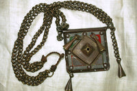 Heavy Brass Necklace from Tuareg