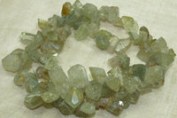 Rough, Raw Aquamarine Stones
