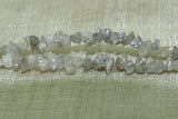 Washed Gray Diamond Beads