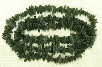 Strand of Chrome Diopside Chips