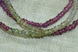 Strand of Small Gorgeous Multi-Color Sapphire Gemstones