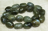 Funky Polished Labradorite Beads
