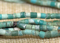 Tiny Turquoise Beads from Afghanistan