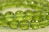 Gorgeous Faceted Peridot Beads