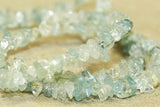 Aquamarine natural small 4mm gemstone beads