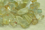 Greenish-Yellow Aquamarine Crystals