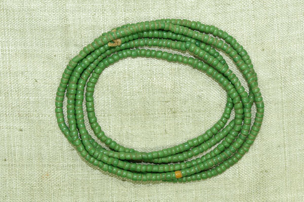 Green Opaque Seed Beads, 10º