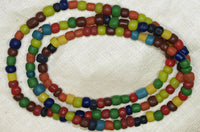 Multi-Color Glass Beads from Java