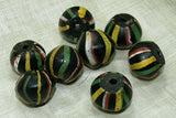 #1 Quality Striped King Bead