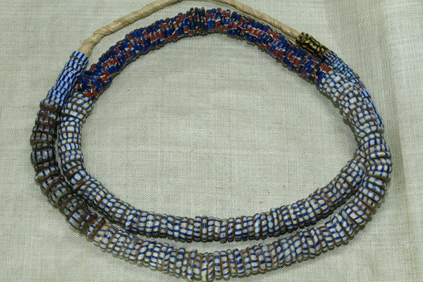Blue Mix of Eja Disc Beads