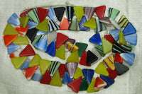 Flat Triangle Wedding Beads