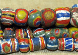 Strand of Ultra-Rare Antique Kiffa Beads