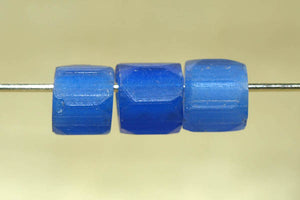 Antique Russian Blue Glass Bead