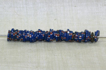 Eja Beads, Small Blue