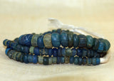 Graduated Strand of Ancient Roman-Era Glass Beads