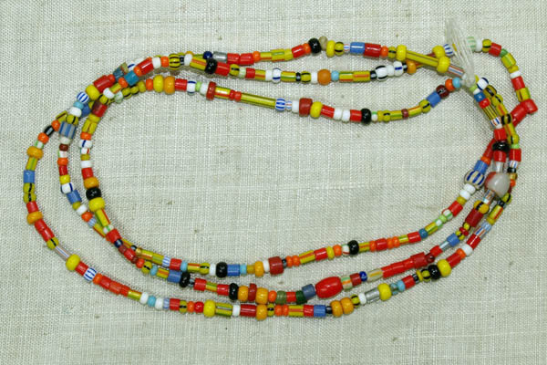 Colorful and Fun Christmas Beads from Ghana