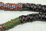 Hefty Strand of Large Eja/Aja Beads from Nigeria