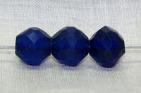 Bohemia Glass Cobalt Bead