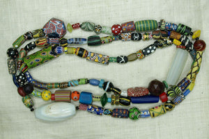 Over 100 Rare and Unusual Beads! Huge strand!