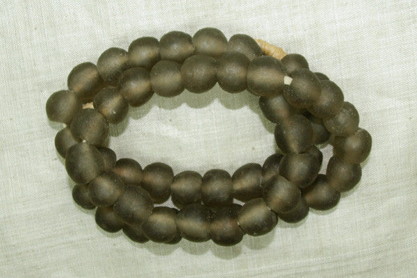 Light Taupe Glass Beads