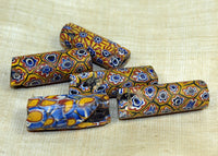 Set of Funky Mille Fiore Beads