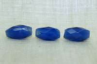 Small Russian Blue Faceted Bead