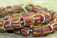 Antique Venetian multi-colored Bead