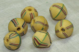 Rare Yellow King Bead in Excellent Shape