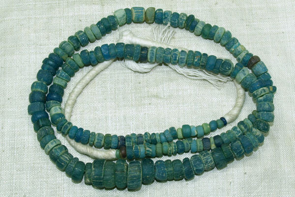 Graduated Strand of Roman Glass