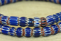 Strand of Small Chevron Beads