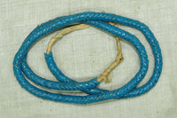 Light Blue Glass Snake Beads