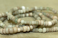 Beige Ancient Roman Glass Beads