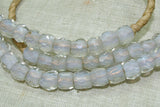 "Strand of Antique Opal ""Russian Blues"""