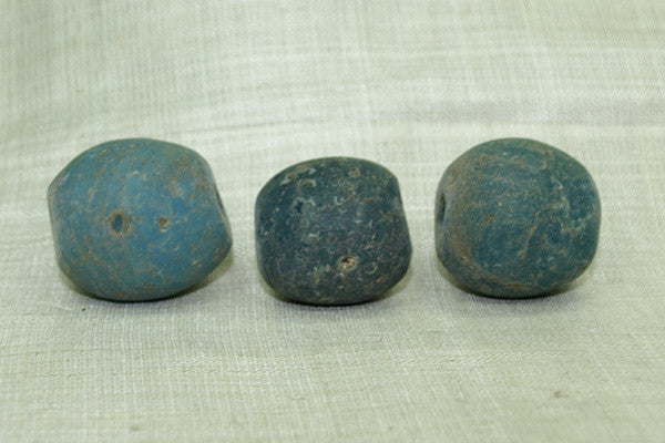 Large Teal Majapahit Bead